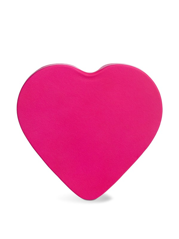 Heart Fuchsia Beret