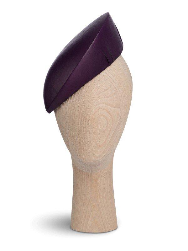 Modern Purple Beret