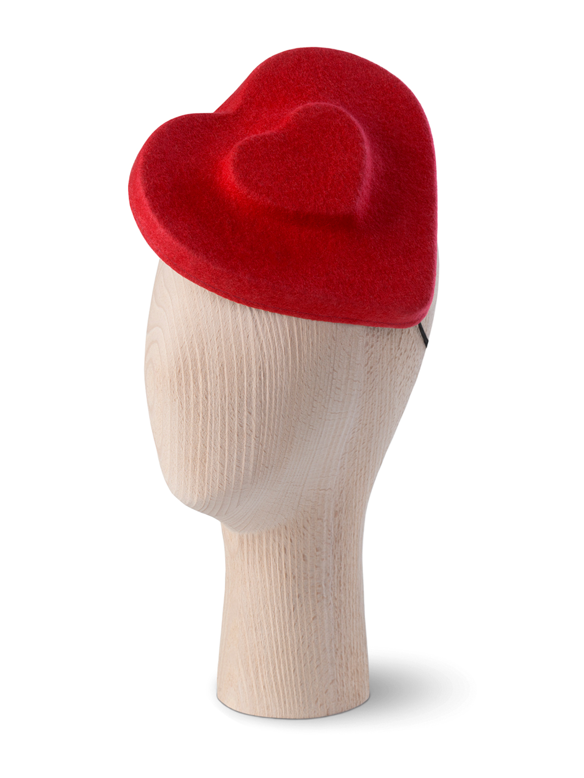 Heart Double Poppy Beret