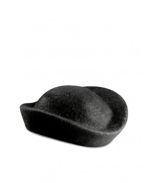 Pillbox Black Hat