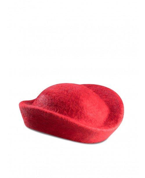 Pillbox Poppy Hat