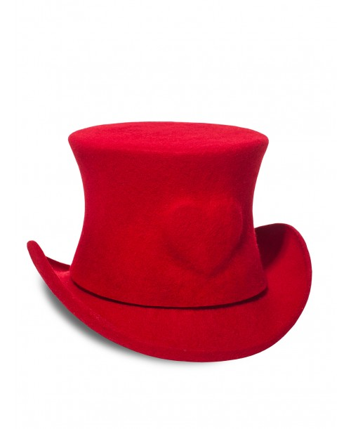 Heart Mini Top Hat