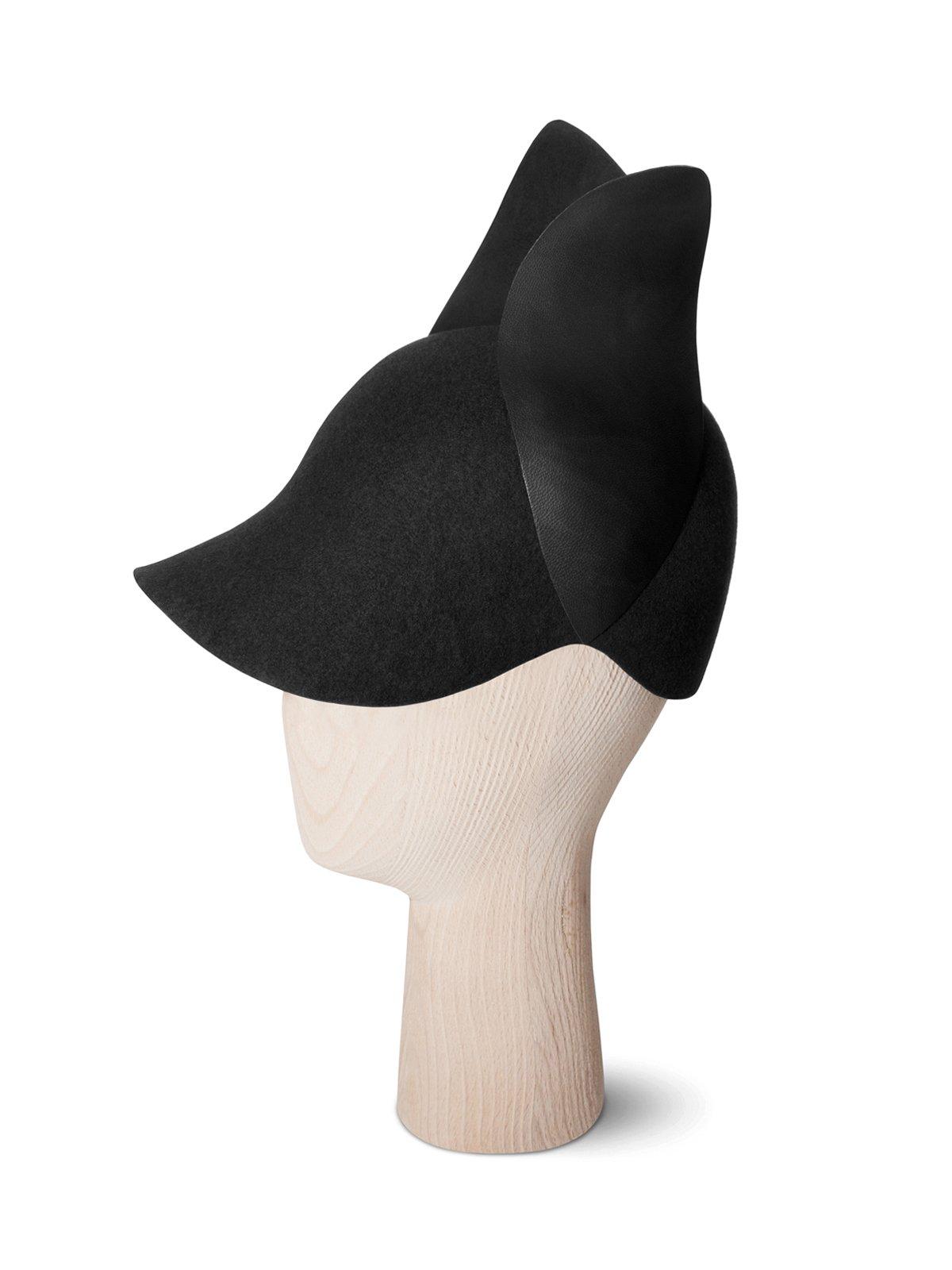 Bunny Black Cap