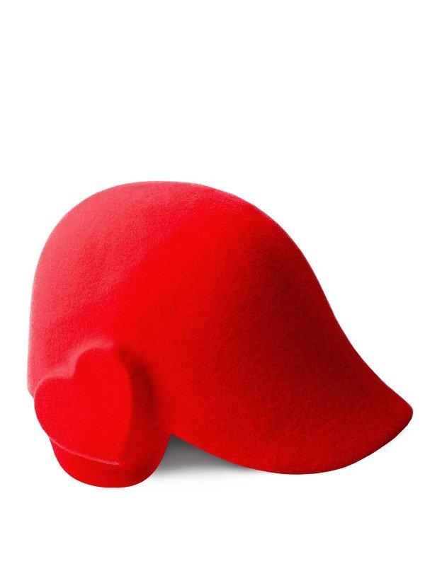 Heart Poppy Cap