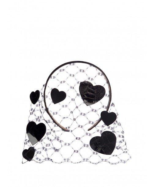 Veil Heart Black