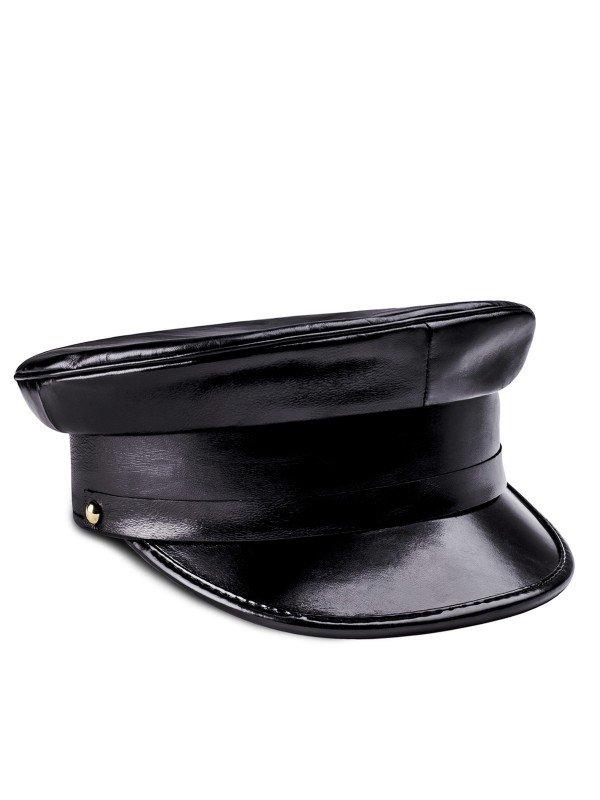 Biker Black Cap