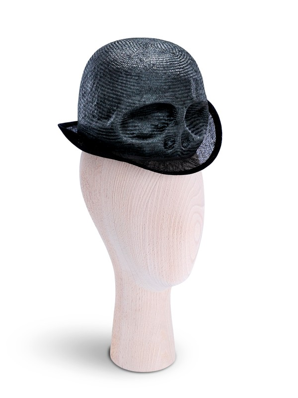 Mini Skull Black Hat