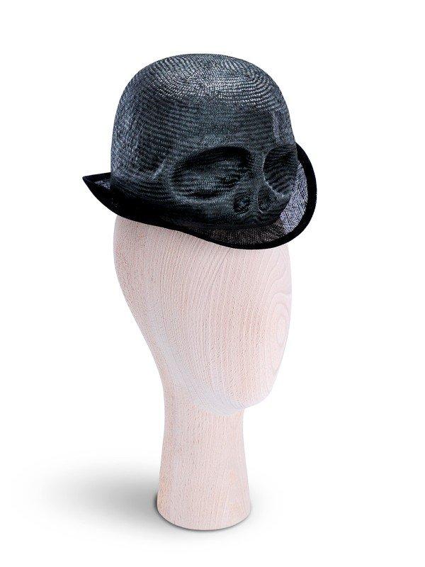 Mini Skull Black Hat