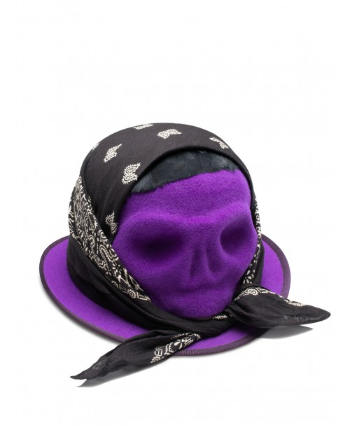 Skull With Black Bandana
