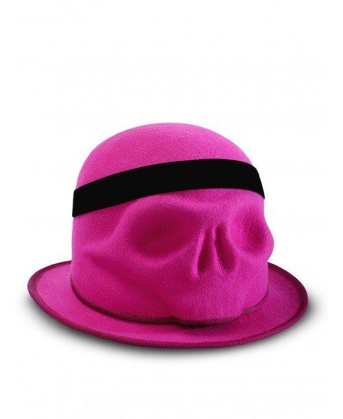 Skull With Velvet Headband