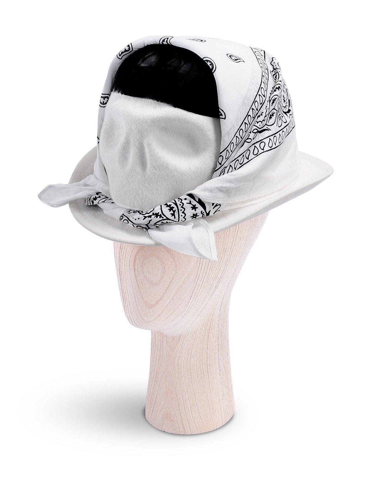 Skull With White Bandana