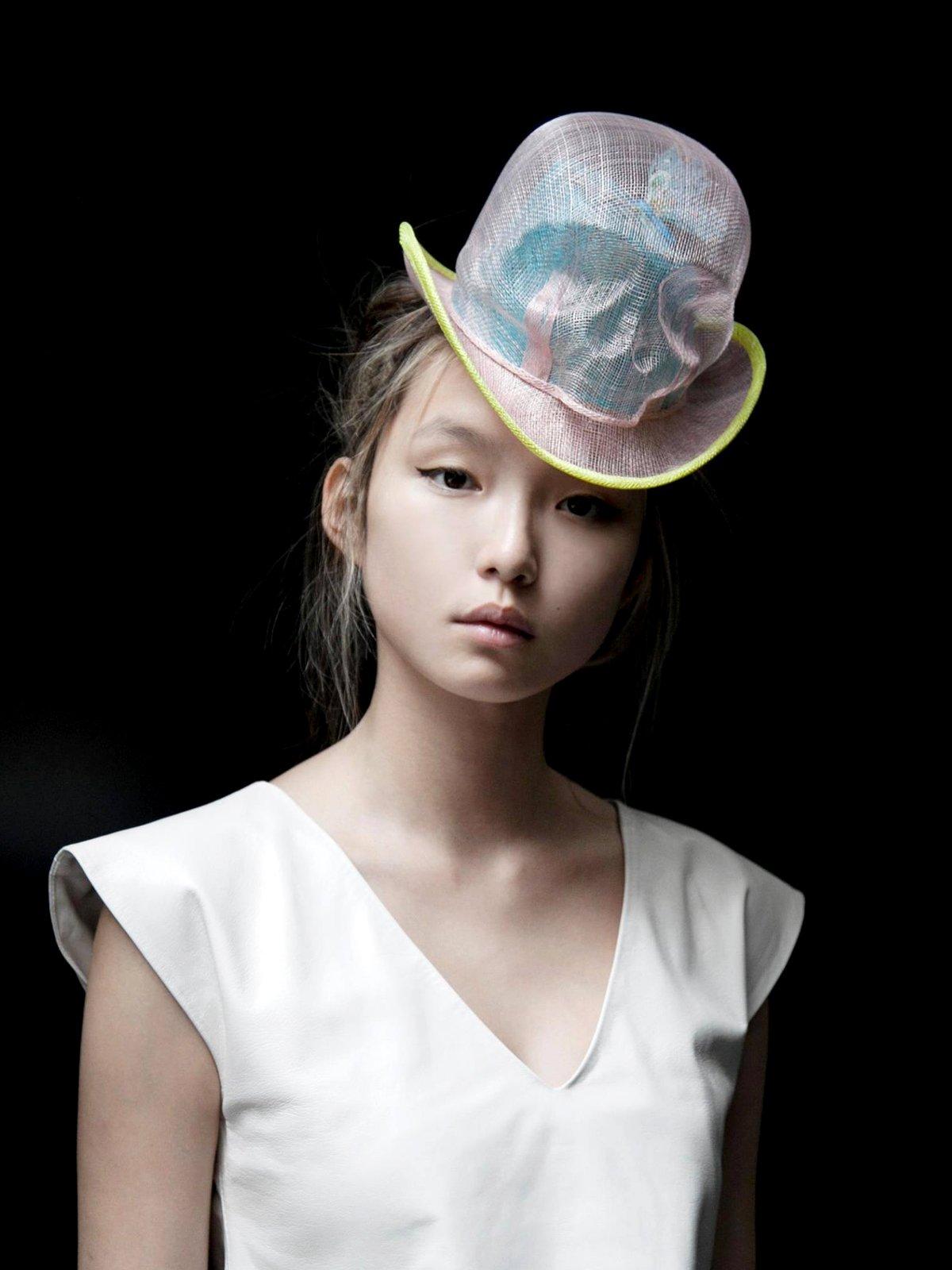 Light Skull Butterfly Hat
