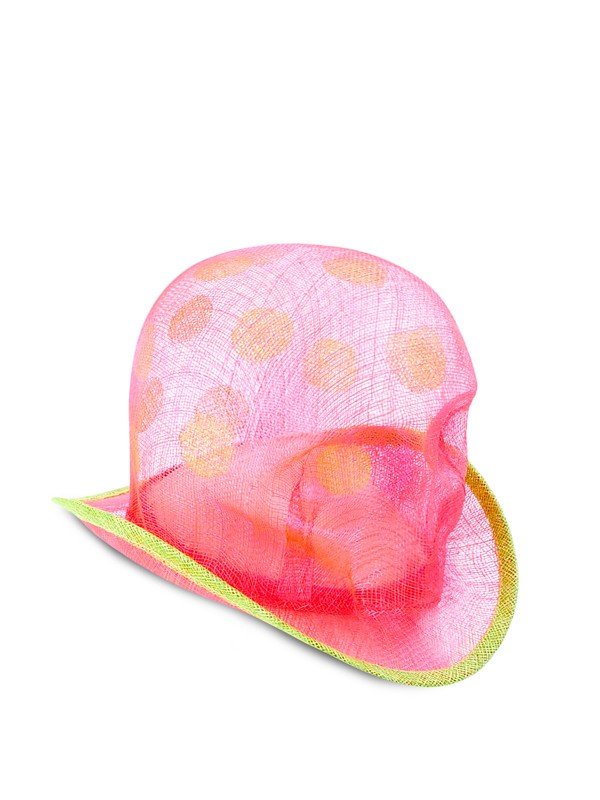 Light Skull Peach Hat