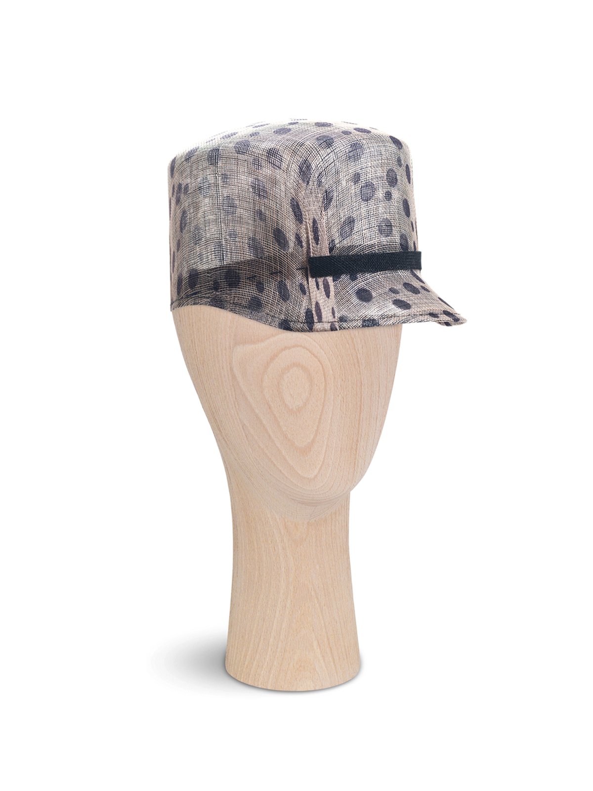 Dots Straw Cap