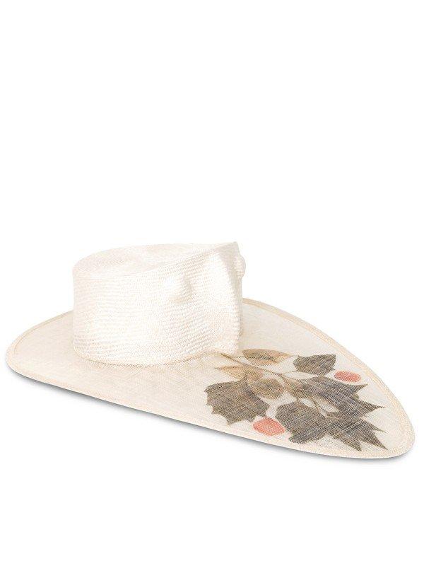 White Parrot Hat