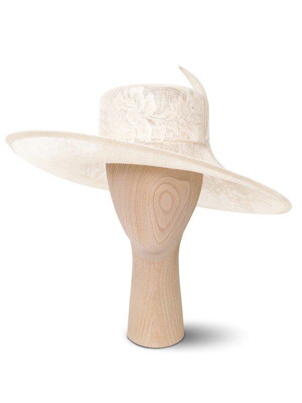Lace Chardonnay Hat