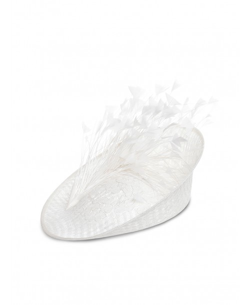 Disc White Feathers